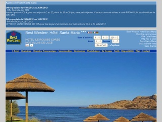 Hotel Santa Maria Ile Rousse